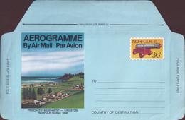Norfolk Island 1982 Aerogramme 36c Mint - Norfolk Island