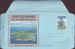 Norfolk Island 1983 Aerogramme 40c Mint - Norfolk Island