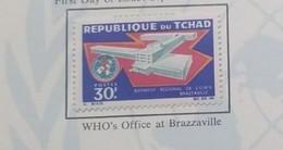 O) 1967 CHAD, WHO HEADQUARTERS, BRAZZAVILLE, SCT 143 XF - Chad (1960-...)