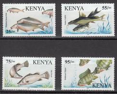 Kenya 2006 Fish Of Lake Victoria Stamps 4v MNH - Kenya (1963-...)
