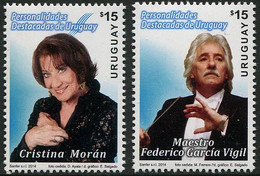 Uruguay 2014 Personalities Stamps 2v MNH - Uruguay