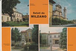 BRESCIA - MILZANO - SALUTI DA.......TH14 - Brescia