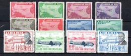 T1-19 Liberia PA N° 32 à 39 + 104 à 107 ** A Saisir !!!  Avions - Liberia
