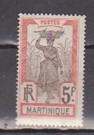 MARTINIQUE                N° YVERT   77 NEUF AVEC   CHARNIERES    (  CHARN  4/02 ) - Ongebruikt