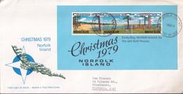 Norfolk Island 1979 Christmas Sc 253a FDC - Norfolk Island