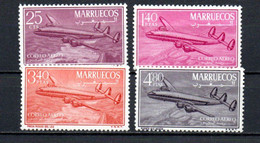 T1-20 Maroc PA N° 91 à 94 **  A Saisir !!!  Avions - Morocco (1956-...)