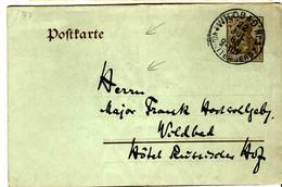 46967 - De WILDBAD - Stamped Stationery