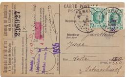 PK - CP - Briefkaart - Hannaert Jozef Walfergem à Schaerbeek - Stempel Cachet Assche Asse - 1926 - Postcards [1909-34]