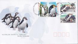 Australian Antarctic Territory 2007 Sc 136-39 FDC - FDC