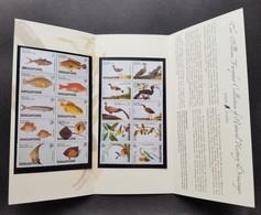 Singapore William Farquhar Drawings 2002 Fish Bird Pheasant Birds Painting Art Tree (p.pack) MNH *see Scan - Singapore (1959-...)