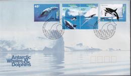 Australian Antarctic Territory 1995 SC L94-97 FDC - FDC