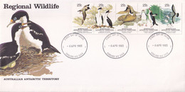 Australian Antarctic Territory 1983 Wildlife SC L55 FDC - FDC