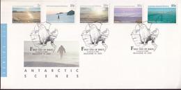 Australian Antarctic Territory 1987 SC L60,62,64,68,70 FDC - FDC