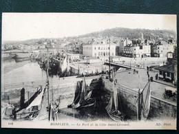14 , Honfleur  ,le Port Et La Côte Saint Léonard ,vue Générale - Honfleur