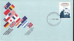Australian Antarctic Territory 1983 SC L56 FDC - FDC