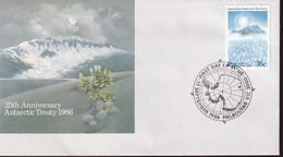 Australian Antarctic Territory 1986 SC L75 FDC - FDC