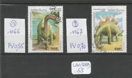 LAO(REP) LOT A CHOIX ( Voir Description ) YT 1166 Et 1167 En Obl - Laos