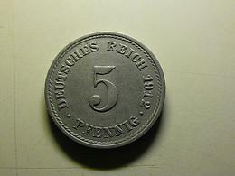 Germany 5 Pfennig 1912 F - 5 Pfennig