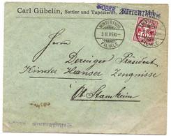 87 - 56 - Enveloppe Envoyée De Winterthur 1905 - Superbes Cachets à Date - Cachet Linéaire Ober Winterthur - Covers & Documents