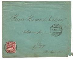 87 - 57 - Enveloppe Envoyée De Zürich 1904 - Covers & Documents