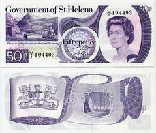 SAINT HELENA        50 Pence        P-5a         ND (1979)         UNC - Saint Helena Island