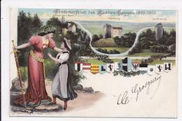 CP SUISSE Centenarfeier Des Kanton Argau 1803-1903 Illustration - AG Argovie