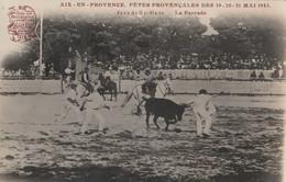 CARTE PHOTO. FETES DES 19-20-21  MAI 1923.   JEUX DE GUARDIANS  LA FERRADE - Aix En Provence