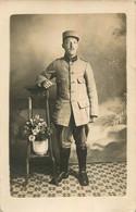 CARTE PHOTO SOLDAT DU 103° RAL  R.A.L.   04/1917 - Regimente