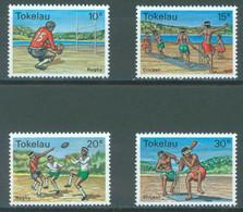 TOKELAU - MNH/** - 1979  - CRICKET RUGBY - Yv 69-72 -  Lot 23433 - Tokelau
