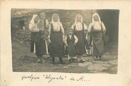 CARTE PHOTO ORIENT 03/1917 DES ELEGANTES - Guerre 1914-18