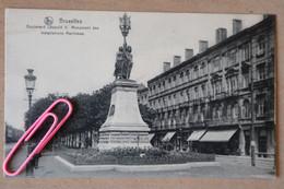 BRUXELLES : Boulevard Léopold II - Monument Des Installations Maritimes - Uccle - Ukkel