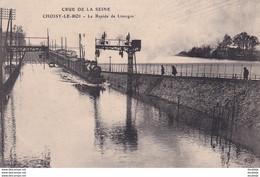 D94  CHOISY LE ROI ( Crue De La Seine  ) Le Rapide De Limoges - Choisy Le Roi