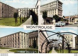 D92  MONTROUGE  La Cité Du Square Buffalo  ....... Multivues Avec Versailles Simca Et 2 CV Citroen - Montrouge