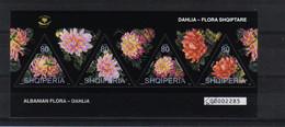 Albania 2004 Dahlia Sheet Y.T. 2728/2731 (0) - Albania