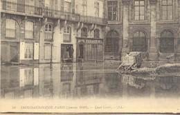 CPA - INONDATIONS DE PARIS - QUAI CONTI - Paris Flood, 1910