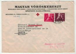 Hongrie // Lettre De La Croix-Rouge Pour La Suisse - Briefe U. Dokumente