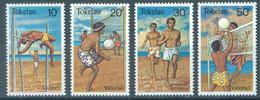 TOKELAU - MNH/** - 1981  - ATHLETICS VOLLEYBALL - Yv 77-80 -  Lot 23435 - Tokelau