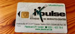 Impulse Fitness Card Germany - Muster / Sample - Altri