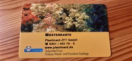 BYK Chemie Card Germany - Muster / Sample - Altri