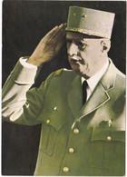Militaria - Militaire : Guerre 1939-45 : Général Charles DE GAULLE  : Grand Format - Guerra 1939-45