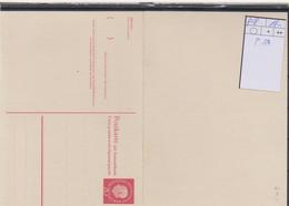 Berlin Michel Kat.Nr.  GA Ungebraucht  P48 - Postcards - Mint