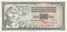 BANCONOTA JUGOSLAVIA 1000 AUNC (HB394 - Yugoslavia