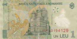 BANCONOTA ROMANIA 1 VF (HB399 - Romania