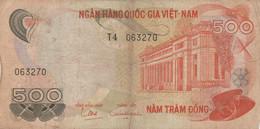 BANCONOTA VIETNAM 500  F (HB422 - Vietnam