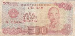 BANCONOTA VIETNAM 500  F (HB426 - Vietnam