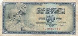 BANCONOTA JUGOSLAVIA 50 VF (HB451 - Yugoslavia