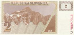 BANCONOTA SLOVENIA 2 UNC (HB469 - Slovenia