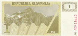 BANCONOTA SLOVENIA 1 UNC (HB470 - Slovenia