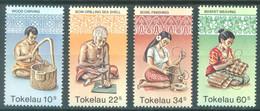 TOKELAU - MNH/** - 1982  - ARTS - Yv 81-84 -  Lot 23436 - Tokelau