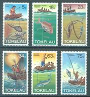 TOKELAU - MNH/** - 1982  - METHOD OF FISHING - Yv 85-90 -  Lot 23437 - Tokelau